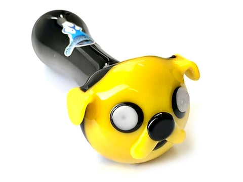 Chameleon Glass Pipe Jake the Dog Glass Pipe