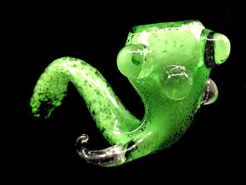 Fat Buddha Glass Pipe Jolly Green Sherlock