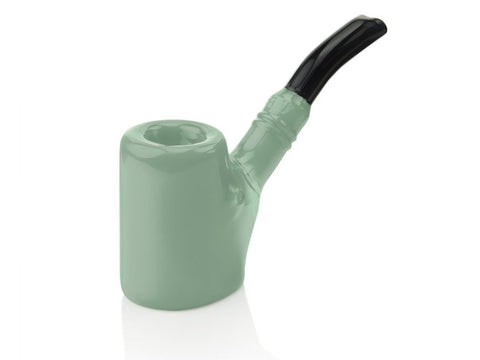 Grav Pipe Mint Green Grav Sitter Sherlock Pipe
