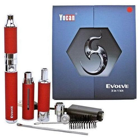 Image of Yocan Vaporizer Yocan Evolve 3 in 1 Vape Pen