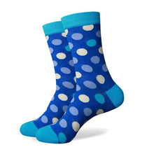 Mens Large Dotted Socks