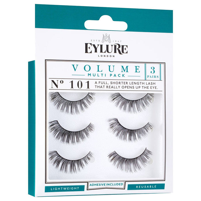Eylure Volume Lashes 101 Multi Pack - 3 pairs