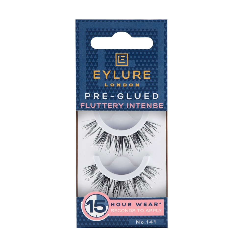 Eylure Pre-Glued Lashes - Fluttery Intense No 141