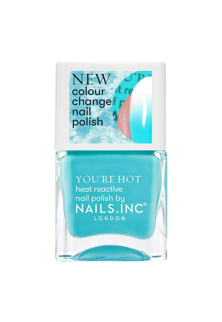 Nails Inc Feel The Hotness Colour Changing Nail Polish