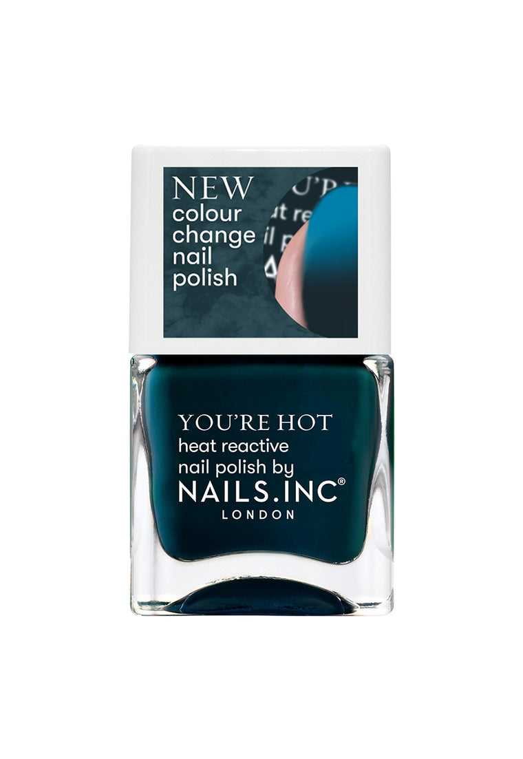 Nails Inc Getting Hot In Here Colour Changing Nail Polish