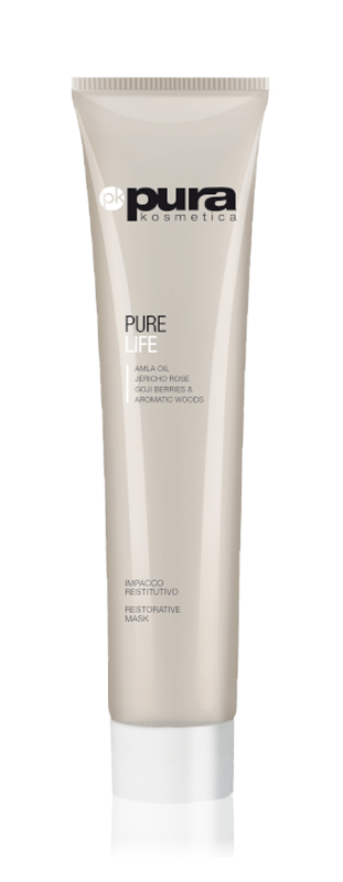 Pura Kosmetica Pure Life Restorative Mask for All Hair Types, 200ml