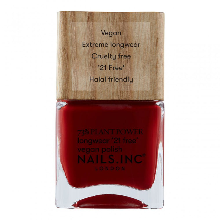 Nails Inc Plant Power Vegan Nail Polish Swear By Salutation
