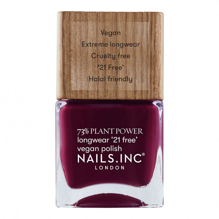 Nails Inc Plant Power Vegan Nail Polish Flex My Complex