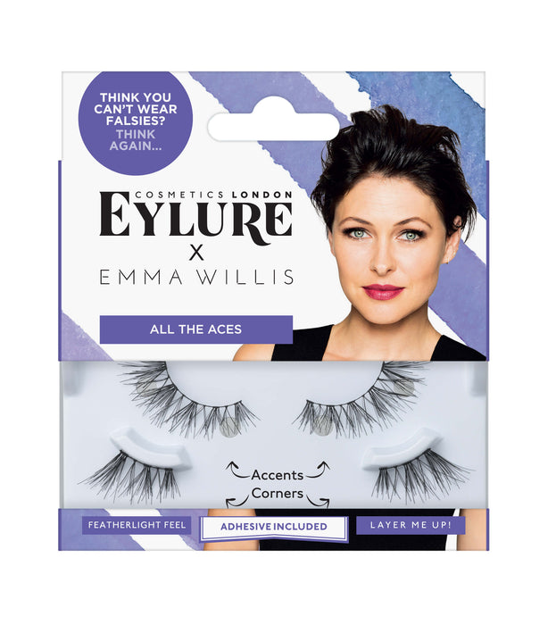 Eylure x Emma Willis Lashes - All the Aces