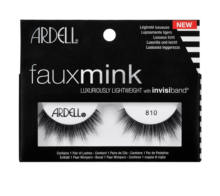Ardell Faux Mink Black Lashes 810