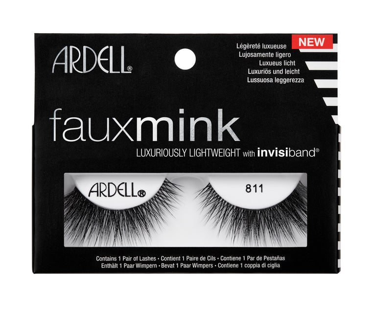 Ardell Faux Mink Black Lashes 811
