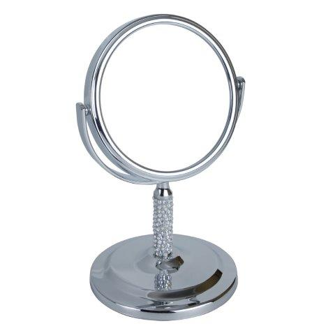 Fancy Metal Goods Sparkle Stand Mirror 7x Magnification