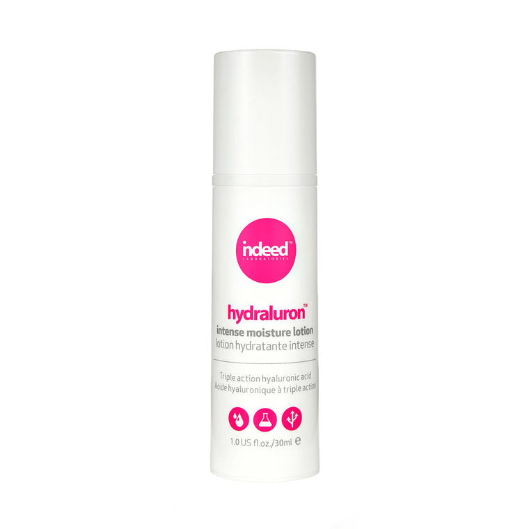 indeed labs hydraluron™ intense moisture lotion Triple Action Hydration and Protection, 30ml
