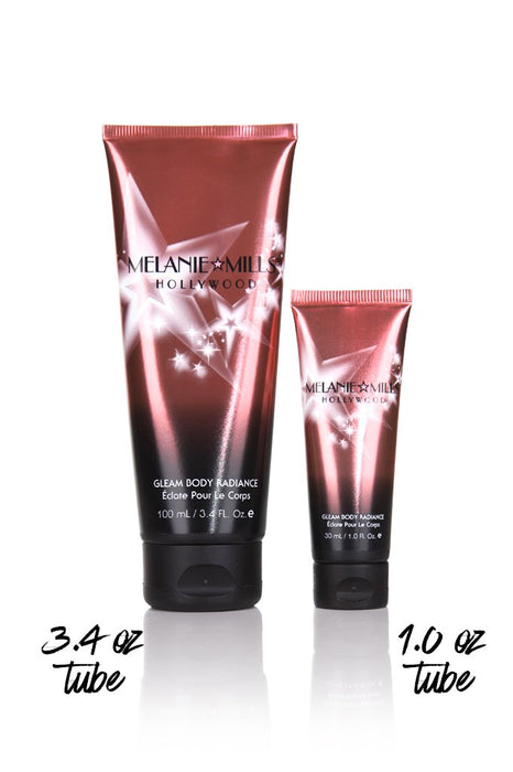 Melanie Mills Hollywood Gleam Body Radiance All In One Makeup, Moisturiser & Glow For Face & Body Opalescence