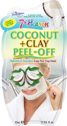 7th Heaven Coconut and Clay Peel Off Face Mask