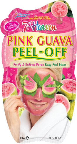 7th Heaven Pink Guava Peel Off Face Mask