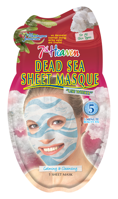 7th Heaven Dead Sea Sheet Mask