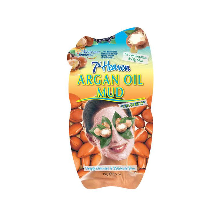 7th Heaven Argan Oil Mud Face Mask