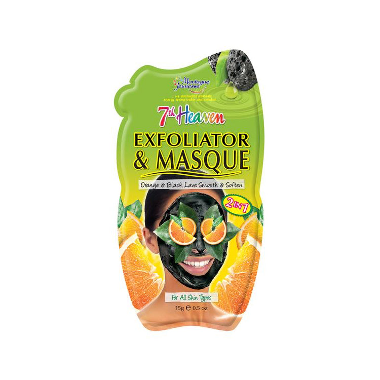 7th Heaven Exfoliator and Mask