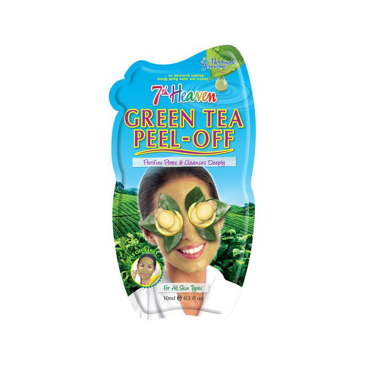 7th Heaven Green Tea And Ginger Peel Off Face Mask