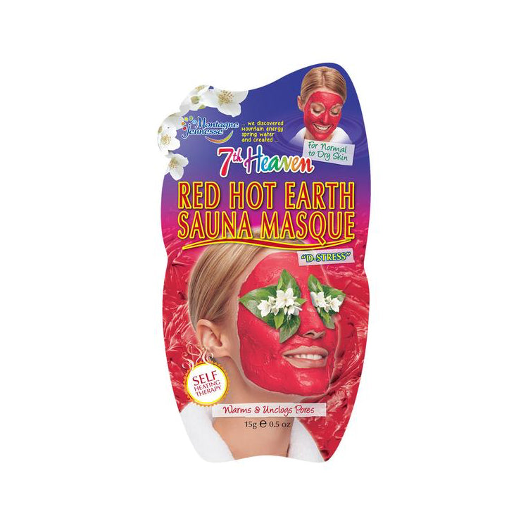 7th Heaven Red Hot Earth Sauna Face Mask