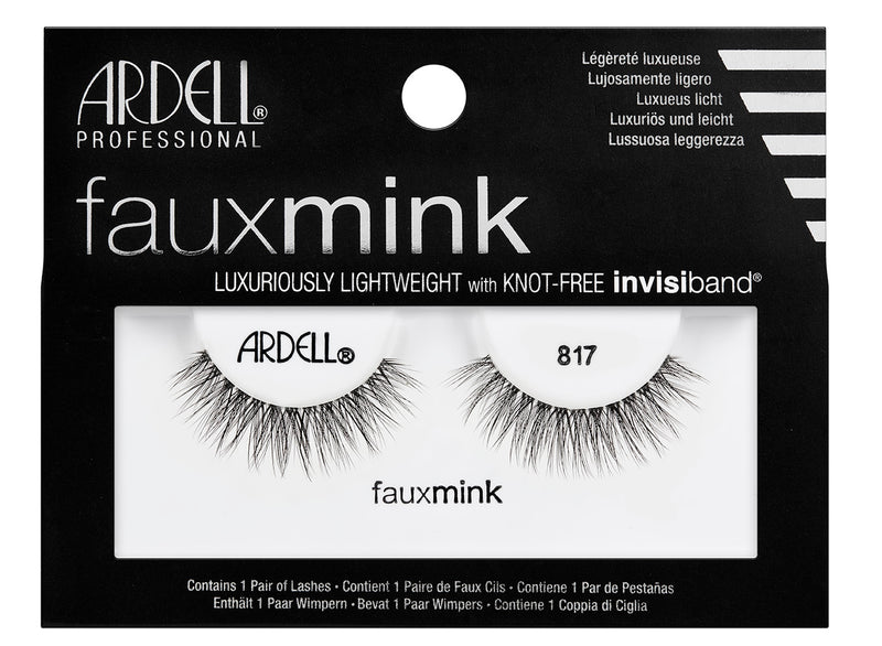 Ardell Faux Mink Black Lashes 817