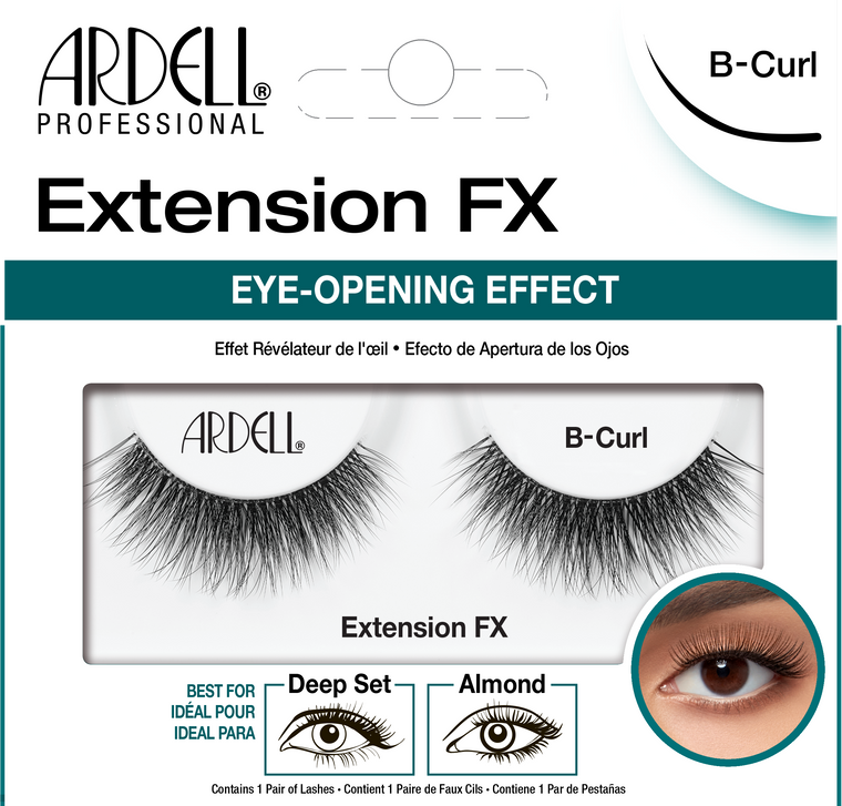 Ardell Lashes Extension FX - B Curl