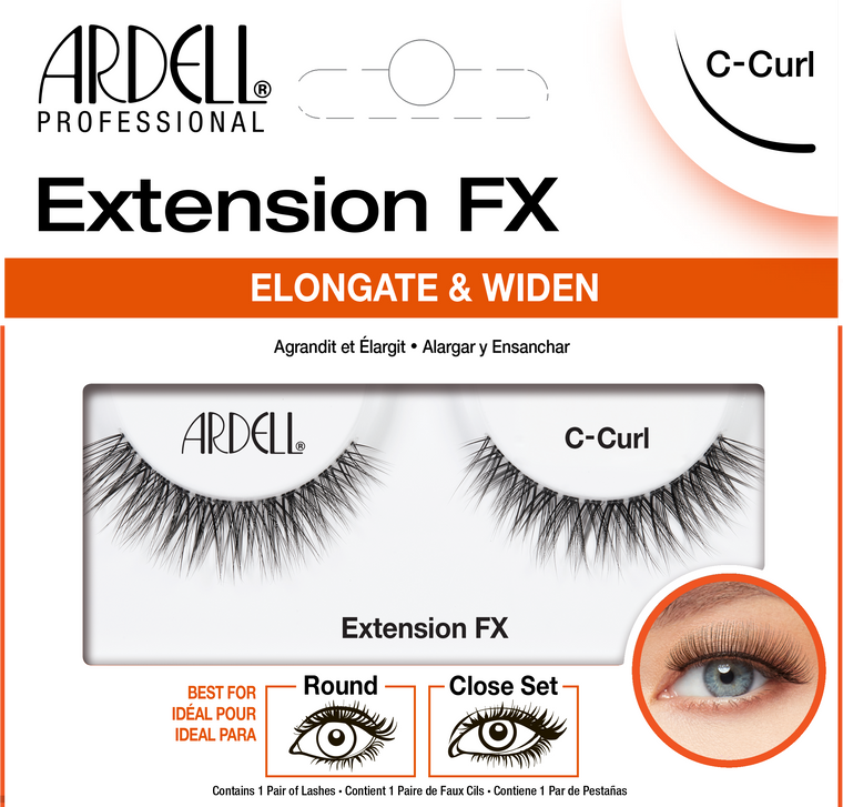 Ardell Lashes Extension FX - C Curl