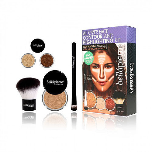 bellapierre Cosmetics - All Over Face Contour and Highlighting Kit
