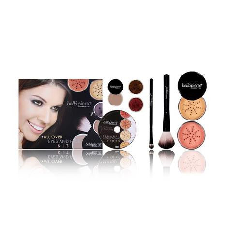 Bellapierre Cosmetics All over Eyes and Face Kit