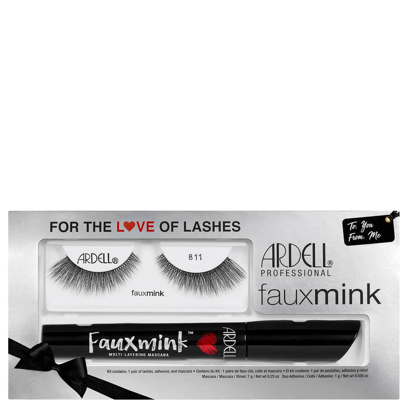 Ardell Faux Mink Lash and Mascara Gift Set