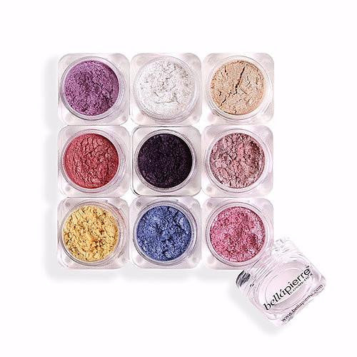 bellapierre Cosmetics Shimmer 9 Stack Colour Pigments