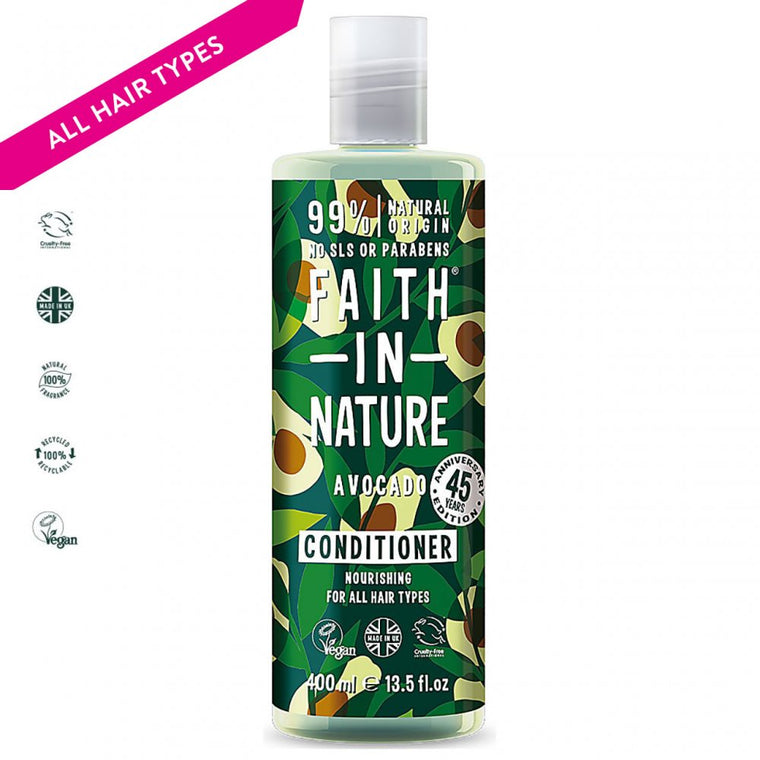 Faith in Nature Organic Avocado Natural Conditioner 400ml