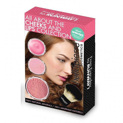 Bellapierre Cosmetics All About Cheeks and Lips Kit