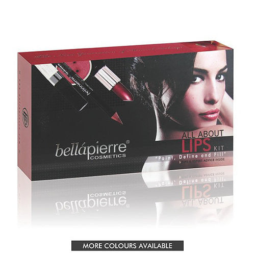 Bellapierre Cosmetics All About Lips Kit
