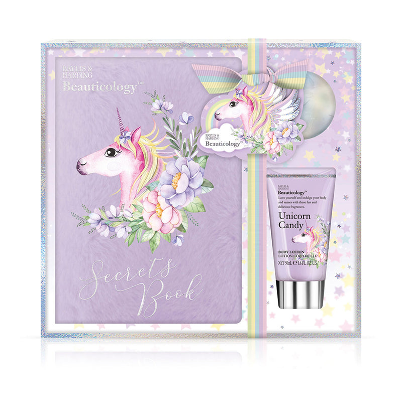 Baylis & Harding Beauticology Unicorn Notebook Set