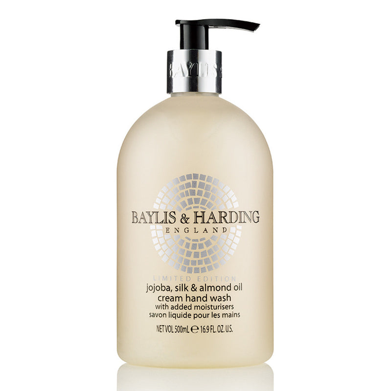Baylis and Harding Jojoba Silk & Almond Cream Hand Wash with Added Moisturisers - 500ml