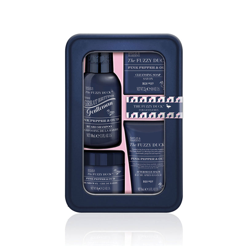 Baylis & Harding Fuzzy Duck Men's Pink Pepper & Oud Emergency Beard Kit