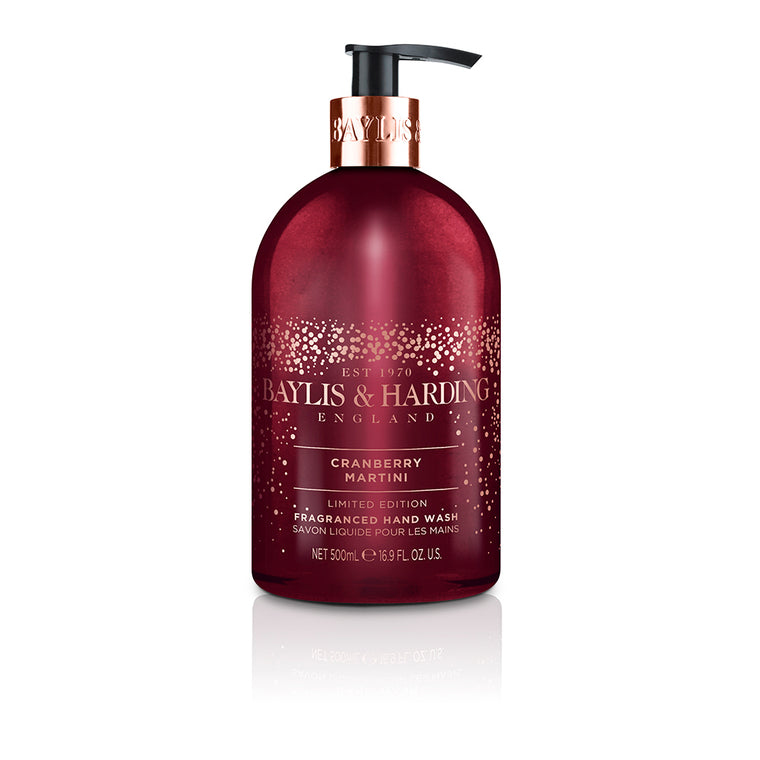 Baylis & Harding Limited Edition Cranberry Martini Hand Wash 500ml