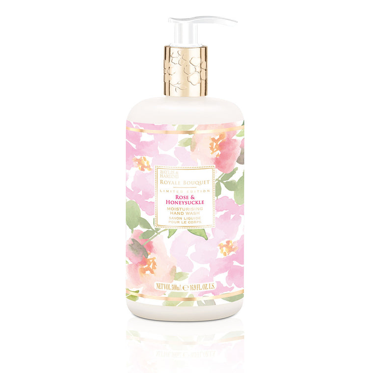Rose & Honeysuckle Hand Wash