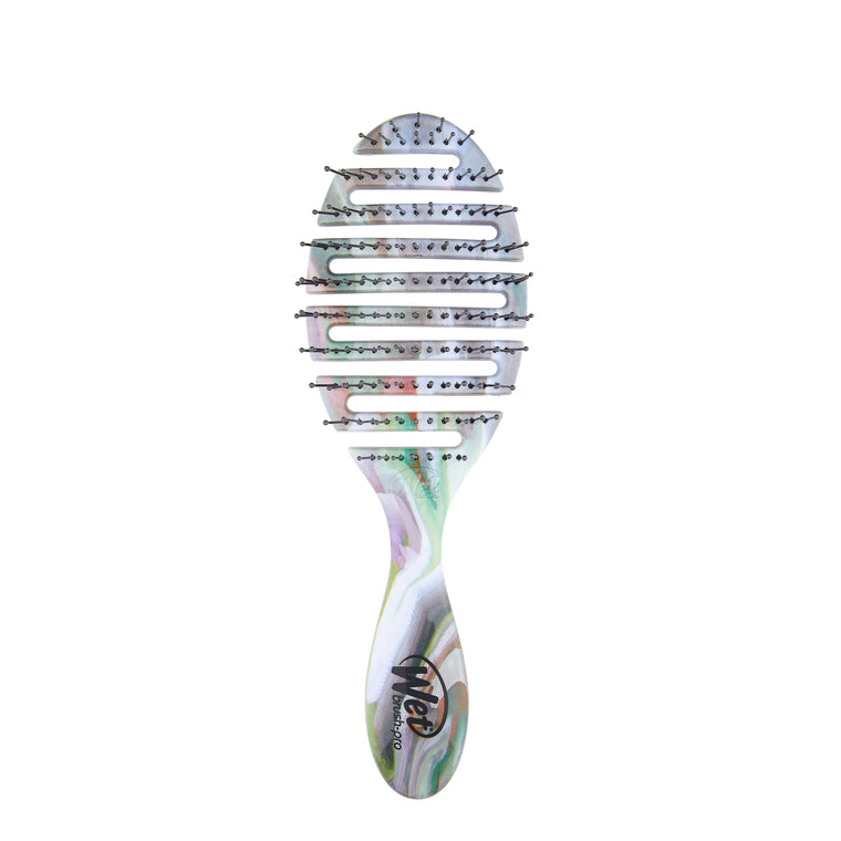 Wet Brush Flex Dry Organic Swirl Pro Detangler - Grey