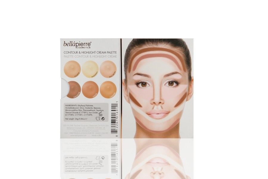 Bellapierre Contour & Highlight Cream Palette