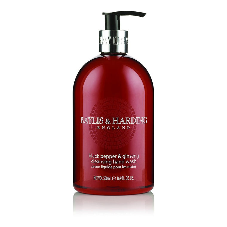 Baylis & Harding Black Pepper and Ginseng Hand Wash 500ml
