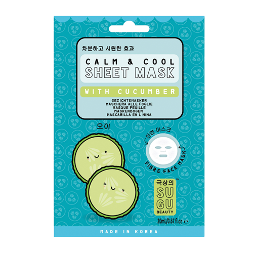 SUGU Calm & Cool Sheet Mask With Cucumber
