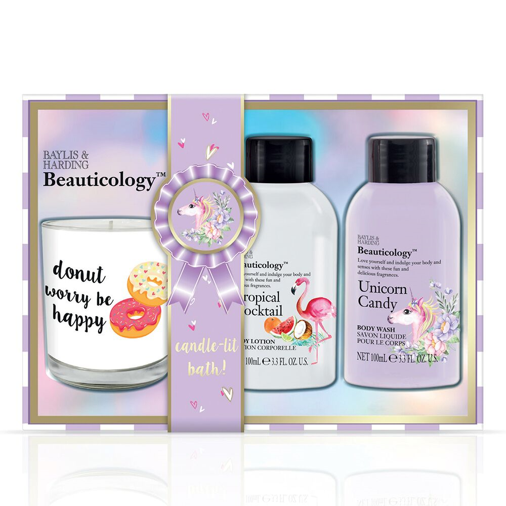Baylis & Harding Beauticology Candle Trio of Treats