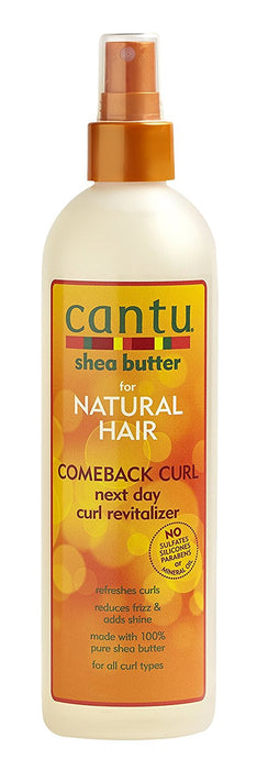 Cantu Natural Hair Comeback Curl Next Day Curl Revitalizer