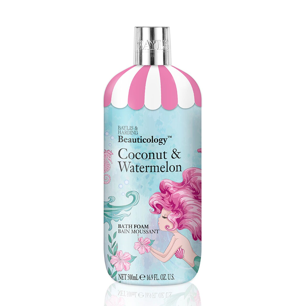 Baylis & Harding Beauticology Coconut & Watermelon 500ml Bath Foam