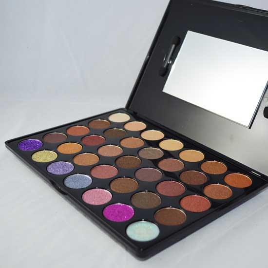 Prima Makeup Shade and Sparkle Eyeshadow and Glitter Palette - Colour Pop