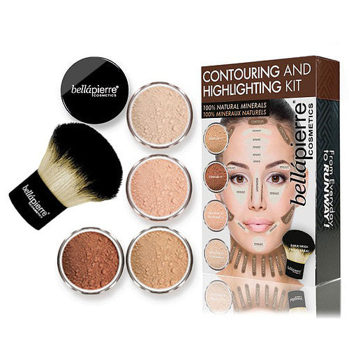 bellapierre Cosmetics Contouring and Highlighting Kit