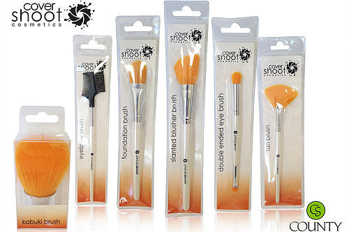 Covershoot Set of 6 Makeup Brushes